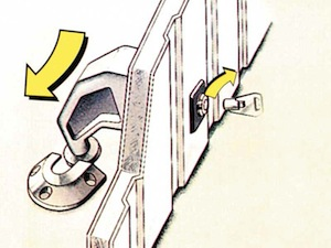 antivol porte de garage stoppa autolok antivol cadenas porte garage. Black Bedroom Furniture Sets. Home Design Ideas